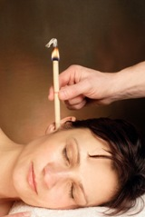 Thermo auricular therapy (ear candle therapy) at the Body & Mind Therapy Centre Mossley Tameside